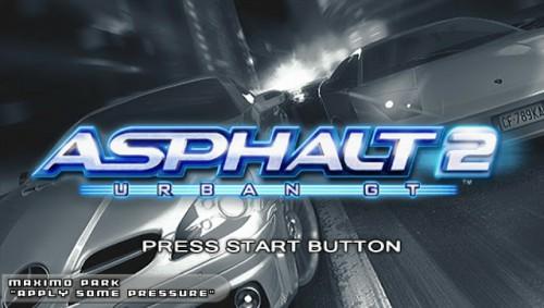 Asphalt Urban GT 2 PSP PPSSPP